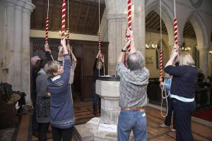 Bell Ringing Performance, Bourn Church, WYSING ARTS CENTRE, 2011