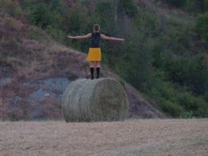 Running up that hill / Esperimenti coreografici in collina