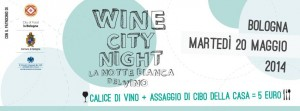 La wine night del vino in 13 localI a Bologna