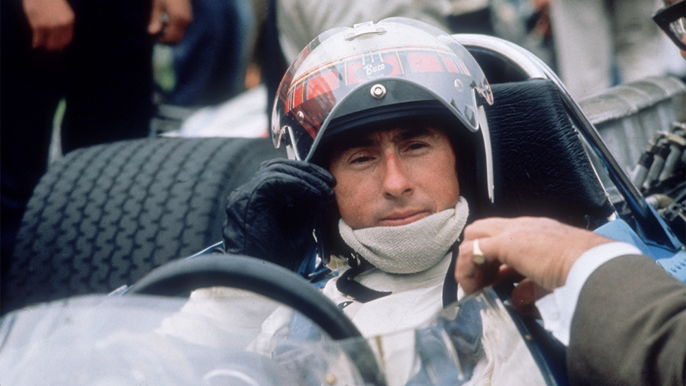 """Weekend with a champion"" - Jackie Stewart"