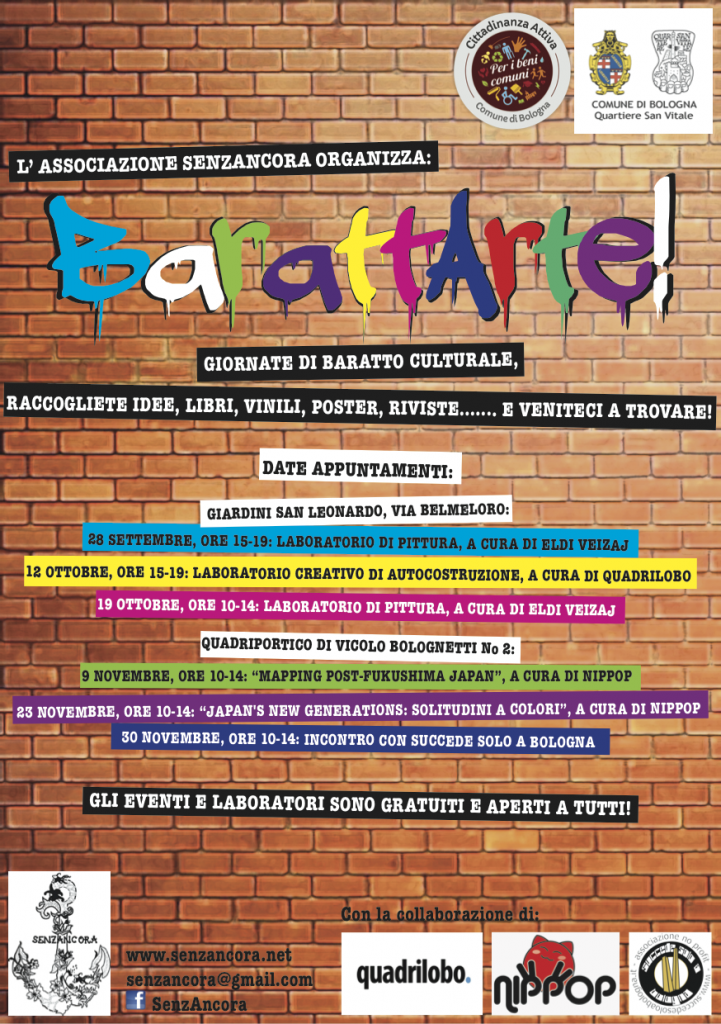 barattarte end color flyer