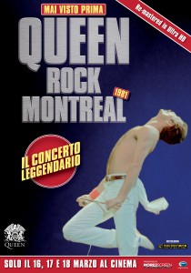 QUEEN ROCK MONTREAL nelle sale dell'Emilia Romagna