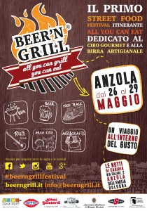 Beer'n'Grill il primo Street Food Festival itinerante ad Anzola