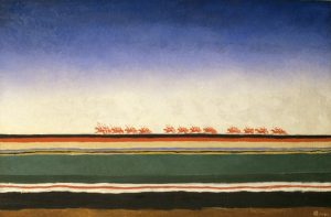 1) Kazimir Malevich Red Cavalry 1932 Oil on canvas. 91x140