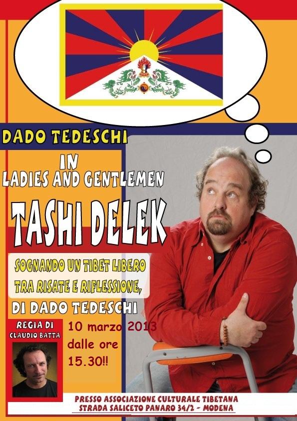 10 marzo a modena spettacolo sognando il tibet libero for Dado arredamenti modena