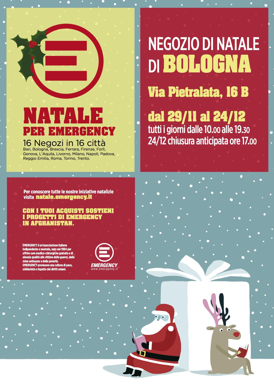 Emergency Regali Di Natale.Dal 29 Novembre Apre A Bologna Il Negozio Di Natale Di Emergency